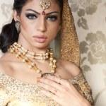 Beautiful Indian Bride — Stock Photo #9855789