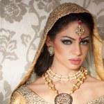 Beautiful Indian Bride — Stock Photo #9855875