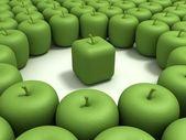 Original apple — Stock Photo