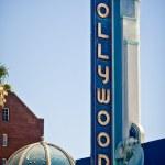 在美国洛杉矶的好莱坞标志 — 图库照片