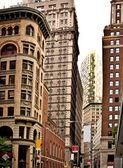 Budovy v centru new yorku — Stock fotografie