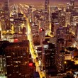 Aerial view of Chicago downtown — Stock Photo #8135264
