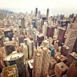 Aerial view of Chicago downtown — Stock Photo #8135314