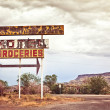Old motel sign — Stock Photo #8136031