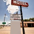 alten Motel-Schild — Stockfoto #9117632
