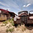 Abandoned restaraunt on route 66 road in USA — Stock Photo #9117719