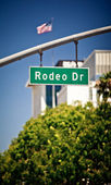 Rodeo Drive sign — Stock Photo