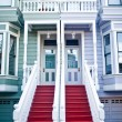 Classic building in San Francisco - Stock Photo