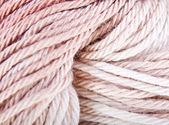 Filati maglia beige e marroni — Foto Stock