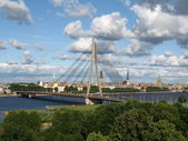 Bridge in Riga — Stock Photo