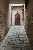 Tuscan door — Stock Photo