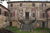 Old tuscan house — Stock Photo