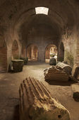 Roman amphitheatre — Stock Photo