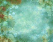Watercolor background with many flowers — Stock Photo