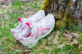 Asics sport shoes — Stock fotografie