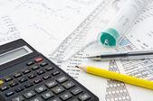 Calculate — Stock Photo