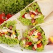 sandwichs wrap au poulet — Photo