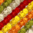 Royalty-Free Stock Photo: Gummy Bears Background
