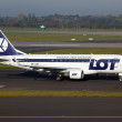 LOT Polish Airlines Embraer 170 — Stock Photo