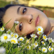 Stock Photo: Spring girl