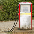 Grunge fuel pump - Stock Photo