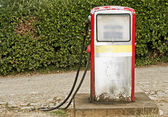 Grunge fuel pump — Stock Photo