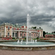 Dramatic view of Kadriorg palace — Stock Photo