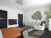 Habitación de huéspedes — Foto de Stock