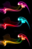 Colored smoke-12 — Stock Photo