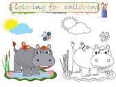 Coloring for children — Stock Photo