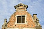 Bakgrund av grunge vintage arkitekturen byggnad — Stockfoto