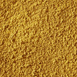 Royalty-Free Stock Photo: Yellow painted textured wall closeup.