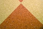 Marmoleum flooring fragment patterns and textures. — Stock Photo