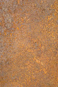 Closeup of rusty metal tin surface background. — Stock Photo