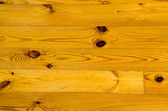 Pine rural floor closeup background in house — Stock Photo