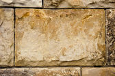 Ancient building walls of stone blocks background — Foto Stock