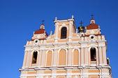宗教教会壁塔クロス ビリニュス — ストック写真