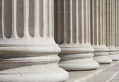Neoclassical columns closeup — Stock Photo