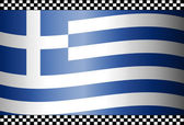 Carbon Fiber Black Background Greek — Stock Vector