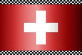 Carbon Fiber Black Background Switzerland — Stock Vector