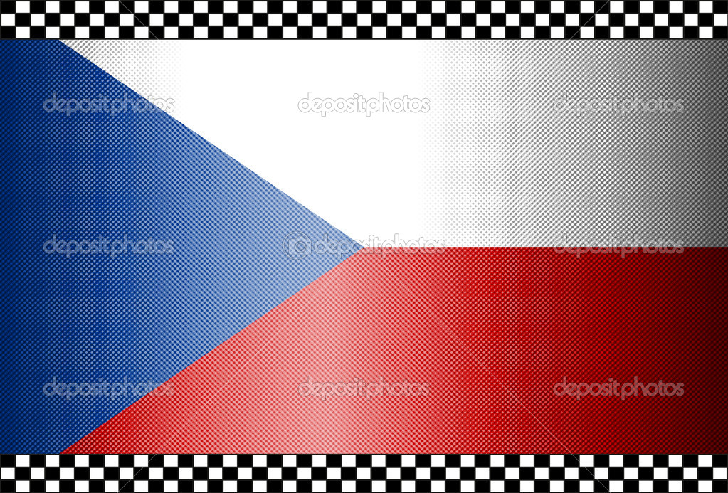 Carbon Fiber Black Background Texture - Czechia — Stock Vector #10269637