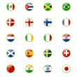 Set of world flags — Stock Vector #10403786