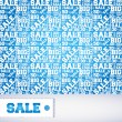 Royalty-Free Stock Vector Image: Vector pattern of discount. Sales.