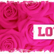 Royalty-Free Stock Imagen vectorial: Card and roses