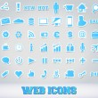 Icons Set for Web Applications — Imagen vectorial