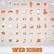 Icons Set for Web Applications — Stock Vector