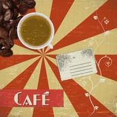 Coffee house — Stock Vector
