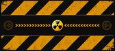 Nuclear dangerund — Stock Vector