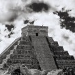 Chichen Itza The main pyramid El Castillo is also called Temple of Kukulcan — Stock Photo