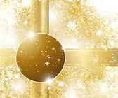 Elegant christmas background with place for text — Stock Vector